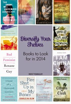 """Diversify Your Shelves: Books to Look for in 2014"""
