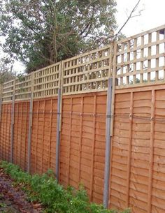 Add height to fences!! 13 Attractive Ways To Add Privacy To Your Yard & Deck (With lots of pictures and resources)