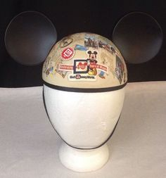 Walt Disney World Celebrating 40th Anniversary Adult Mickey Mouse Ears Hat Epcot #WDW