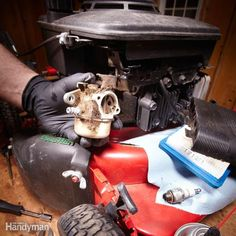 Learn the reasons why a lawn mower won't start and how to fix those problems.