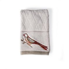 Better Homes and Gardens Song Bird Jacquard Bath Towel Bathroom