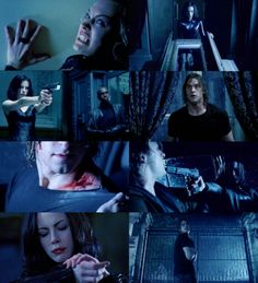 Kate Beckinsale Underworld Werewolf, Underworld Cast, Underworld Selene, Underworld Movies, Dark Love, Light In The Dark, Underworld Kate Beckinsale, Scott Speedman, Kate Beckinsale Pictures