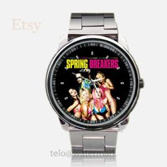Spring Breakers Movie Sport Metal Watch by telopolo on Etsy, $17.50