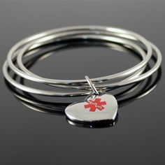 Clic Bangles Medical Bracelet Need For My Sulfa Allergy
