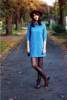 MES MEMOS: The denim dress
