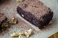 bliss blog - blissful eats with tina jeffers: The raw brownie