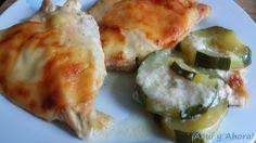 ¡Aquí y Ahora!: Pechuga de pollo con salsa bechamel
