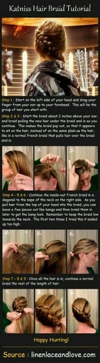How To: Katniss Braid
