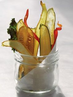 Vegetable chips recipe: Organic Gardening. Gluten free. Dairy free. ~ CAB