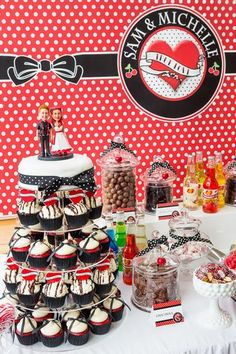 Hostess with the Mostess® - Michelle & Sam's Rockabilly Wedding