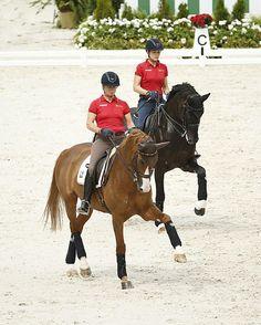 m-14-35-d0076b-Training-Isabell-Werth-GER-Bella-Rose-WESTF+Kristina-Sprehe-GER-Desperados-FRH-HANN