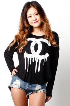 Chanel T-shirts that will get you the attention you deserve.!!!!!