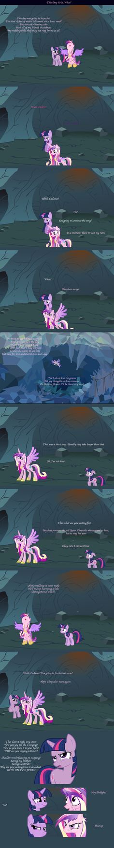 This Day Aria...What? by Thundercracker417.deviantart.com<--- finally. A duet by people in two different places is explained. Sort of.