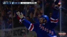 Rangers Beat Lightning in Game 1