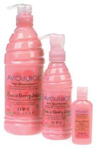OPI Avojuice skin Quenchers 1 oz Cran & Berry Juicie