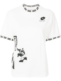 Tiara print T-shirt Damir Doma, Sport Chic, Nice Tops, Long Sleeve, Mens Tops, Cotton, T Shirt, Shopping, Clothes
