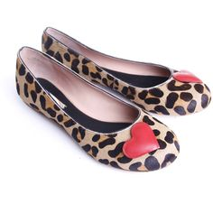 Paul Smith Womens Paul Smith Shoe Womens Womens Fritillary Leopard Print Pump With Heart Leopard Leopard Print Pumps, Leopard Flats, Walk In My Shoes, Flat Shoes, Cute Flats, Paul Smith, Well Dressed, Footwear, My Style
