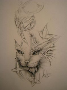 tattoos big cats | Cat Tattoo Designs| Different Cat Tattoos | Latest Fashion Collection ...