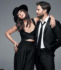 Reportaje de fotos de Jamie y Dakota en la revista Glamour USA (marzo 2015)   50 Sombras Spain