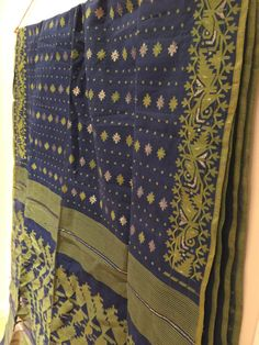 Dhakai Jamdani saree / Dhakai saree / by TheFarEastArtStudio