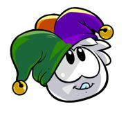 White Puffle with a hat | White Puffle With Hat.png (19 KB)