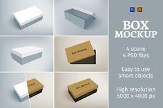 Shoes Packaging Box Mockup by Petr Stránský on Packaging Box, Beauty Packaging, Packaging Design, Business Card Mock Up, Business Brochure, Site Website, Box Mockup, Change Background, Creative Sketches