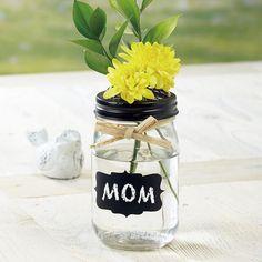 Glass Mason Jar with Chalk Label $5.99           Now:$4.99