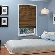 jcp | JCPenney Home™ Natural Woven Bamboo Cordless Roman Shade; 36X64 $104