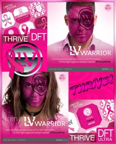 Donate to the National Breast Cancer Foundation this month by getting your #Thrive4Pink DFT patches at whollycrepe.le-vel.com