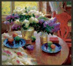 Morning Lilacs by Ovanes Berberian