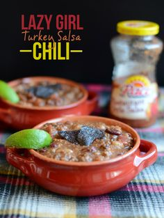 Lazy Girl Turkey Salsa Chili & Scenes from the Weekend - Fit Foodie Finds
