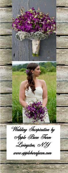 Rustic Purple Wedding Bouquet - applebarnfarm's Photoblog