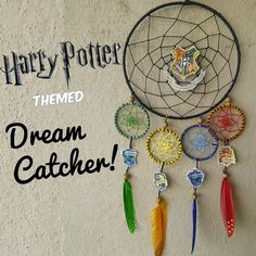 No matter which house you belong to, we all have Hogwarts pride to show off. Check out this DIY dreamcatcher that would make Helga, Rowena, Salazar, and Godric ALL proud.
