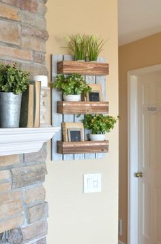 Refreshed Modern Farmhouse Living Room. Spring Decor Ideas for the farmhouse.