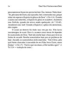 """Uma Vida Voltada para Deus - John Piper  versão em em português do livro """"a Godward life""""."""