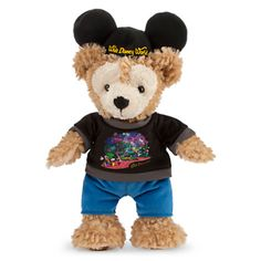 Duffy the Disney Bear Plush - Walt Disney World Guest - 12''