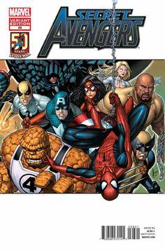 Secret Avengers # 28 (Variant) by Dale Keown