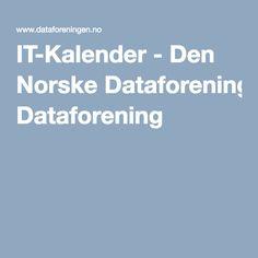 IT-Kalender - Den Norske Dataforening