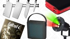 Today's Best Deals: Holiday Lasers Fallout 4 Magnetic Knife Strip and More
