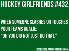 """""""Did he just touch Auger? Man, he better watch himself. The Effective Pictures We Offer You About Hockey Girlfriend quotes A quality picture c Hockey Baby, Field Hockey, Ice Hockey, Hockey Goalie, Hockey Memes, Hockey Quotes, Funny Hockey, Hockey Girlfriend, Girlfriend Quotes"""