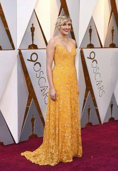 Alfombra roja Premios Oscar 2018 - Greta Gerwig