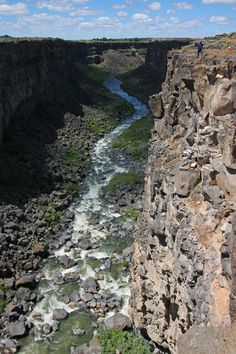 SNAKE RIVER - Mallad Gorge, Mountain Home, Idaho (by photoray)    Jan...if you see this pin.........thinking of you.