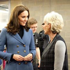 Today, #DuchessKate has made another surprise visit with #PrinceWilliam and #PrinceHarry for a #CoachCore event. I am at work, but I have thoughts... see blog tonight. :) #princesskate #duchesskate #duchessofcambridge #katemiddleton