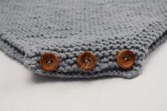 Cose los botones de tu peto para bebe Boy Diy Crafts, Diy Crafts Knitting, Baby Knitting Patterns, Baby Patterns, Tricot Baby, Baby Romper Pattern, Felt Kids, Baby Coat, Baby Slippers