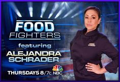This Thursday!! Check out #FoodFighters on NBC at 8/7c and watch a home cook challenge 5 pro-chefs, including me! #Chef #NBC
