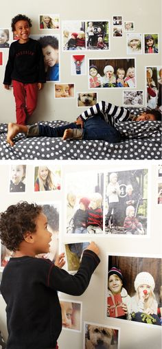 Repositionable Photo Wall Decals - won't harm walls!