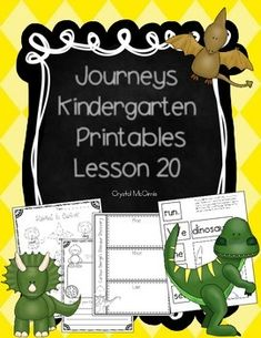 Journeys essential questions for kindergarten reading focus i created this set of supplementary printables to use while i am teaching lesson 20 of fandeluxe Images