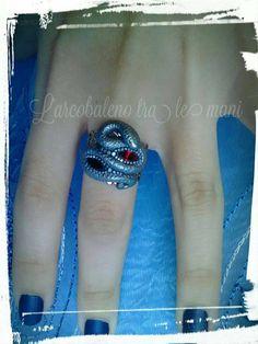 Guarda questo articolo nel mio negozio Etsy https://www.etsy.com/it/listing/524662951/anello-serpente-snake-ring