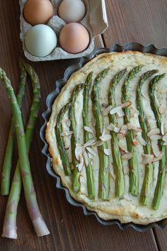 Rustic Dutch Rosemary Asparagus Pie