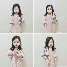 Cute Asian Babies, Korean Babies, Asian Kids, Cute Babies, Cute Little Baby, Little Babies, Baby Love, Baby Kids, Stylish Kids Fashion